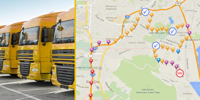 fleet management with evertrack gps tracker app