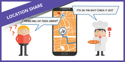 Share GPS Location with a Simple Link!
